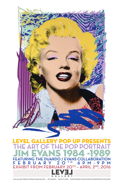 The Art Of The Pop Portrait Graphic_Marilyn